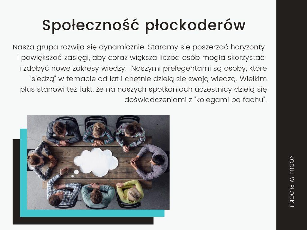 Koduj w Płocku - oferta sponsorska